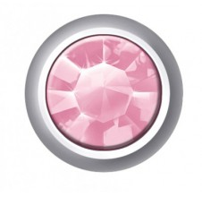 Náušnice Swarovski Regular Bezel Light Rose