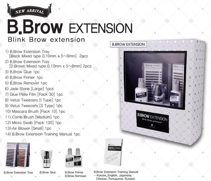 Eyebrow Extension Kit Blink Lash Blink Korea